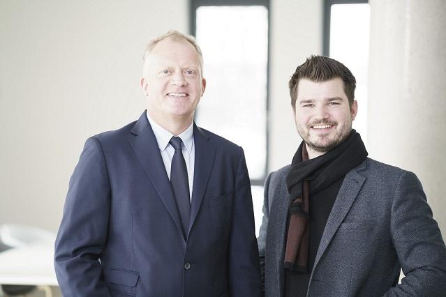 Frank Hippen und Niels Kokkeel